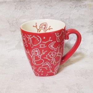 Starbucks Batista Snowman Mug